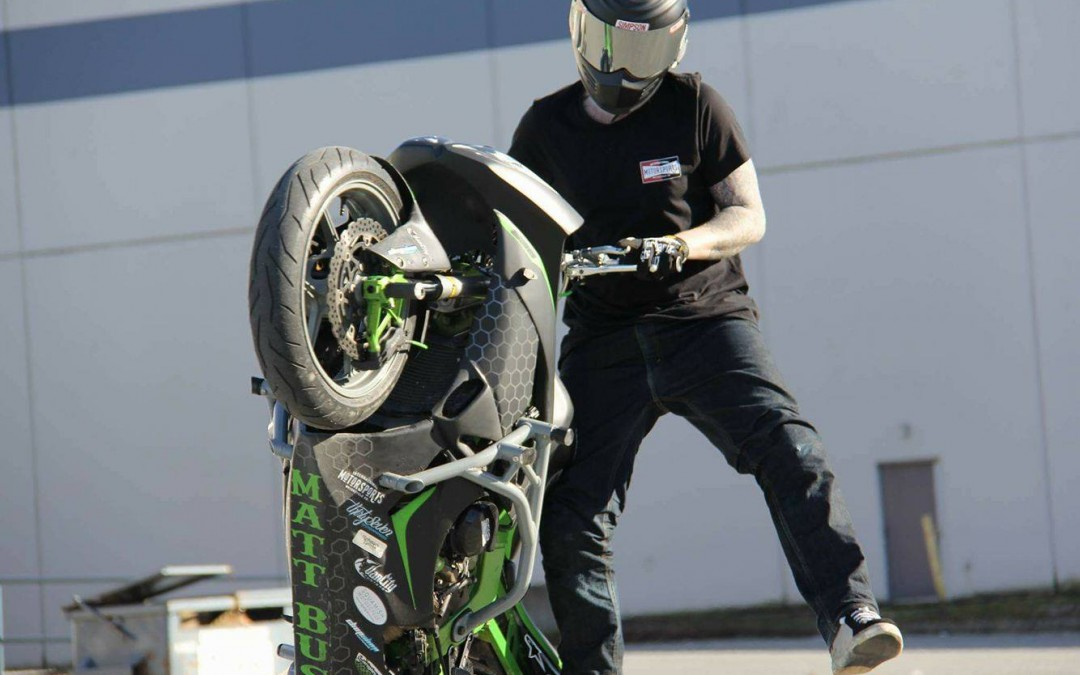 Q&A with Matt Bush. The happiest stunter you'll ever meet. Want to learn? Talk to him first.