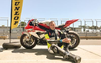 Phillip Island Motorcycle Track Day on a BMW S1000RR with MEGA Ride Days